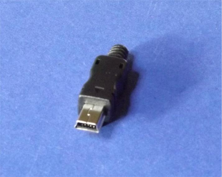 usb typ mini b stecker zum l ten 5 polig geh use male plug. Black Bedroom Furniture Sets. Home Design Ideas